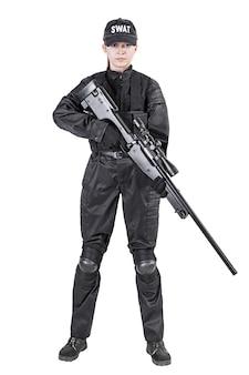 Vrouwelijke politieagent