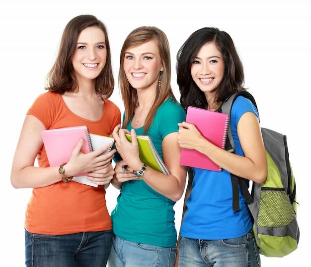 Vrouwelijke studenten samen