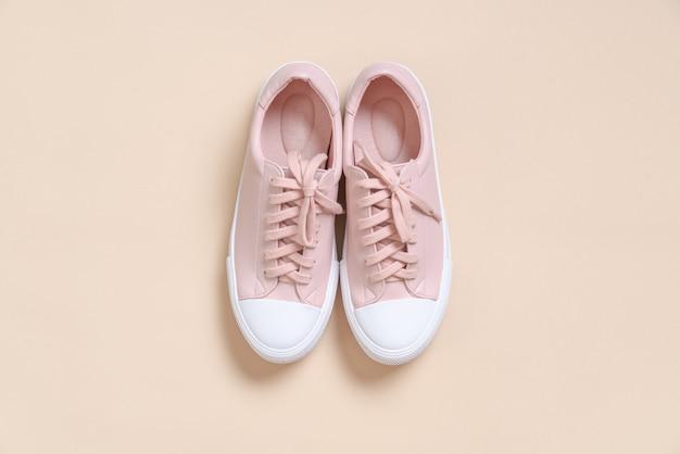 Vrouwen leren sneakers schoenen