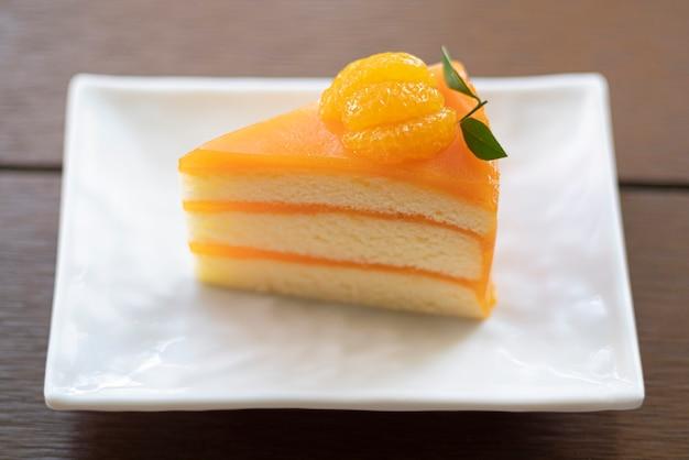 Vruchten-sinaasappeljam slagroomtaart