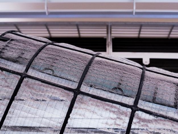 Vuil filter van airconditioner