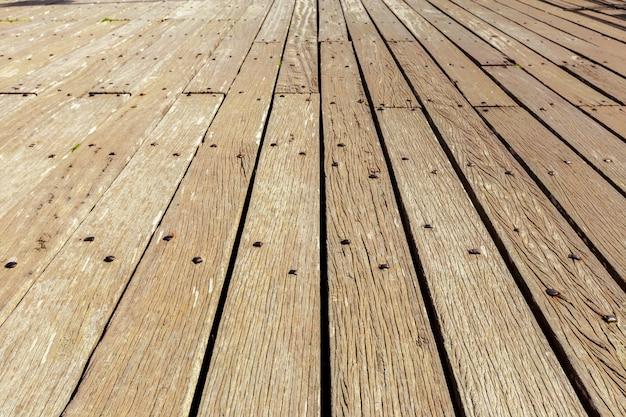 Vuile houten muur