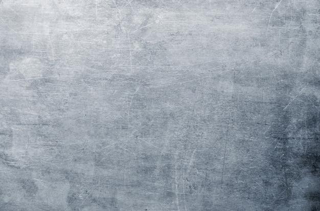 Vuile plaatwerk textuur, zilver aluminium of stalen oppervlaktepatroon