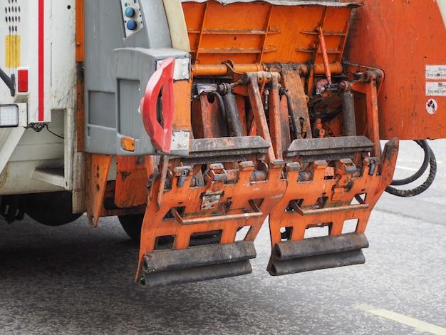 Vuilniswagen voor afvalinzameling