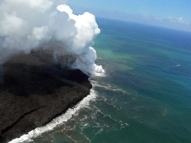Vulkaan in hawaï