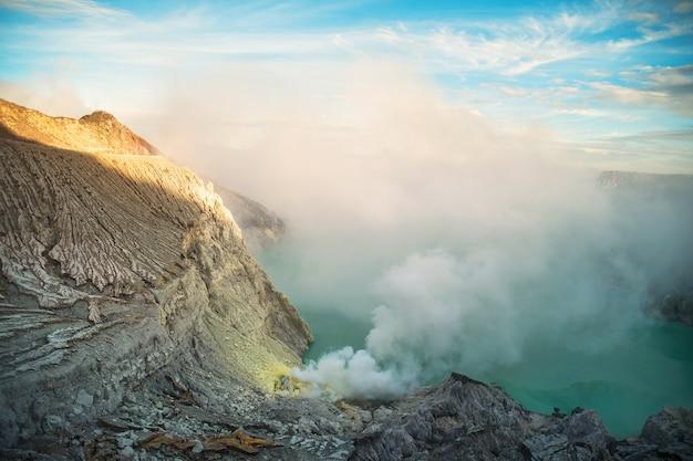 Vulkaan kawaii jian indonesia.
