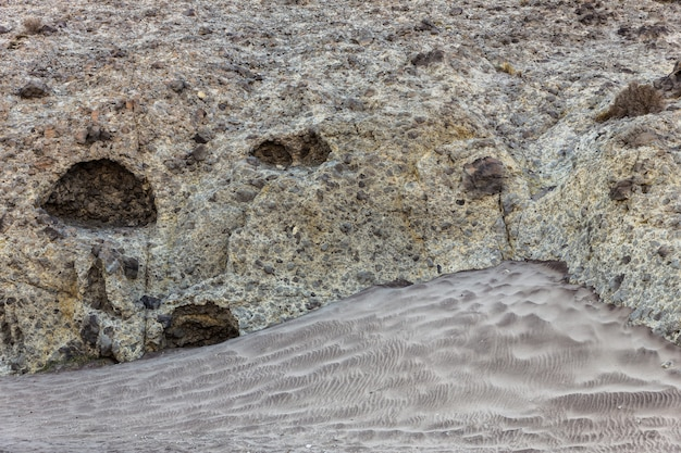 Vulkanische agglomeraatachtergrond