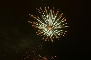 Vuurwerk, blowup, newyears