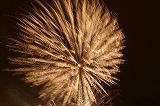 Vuurwerk, explosie, bom
