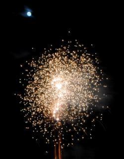 Vuurwerk, feest, independenceday