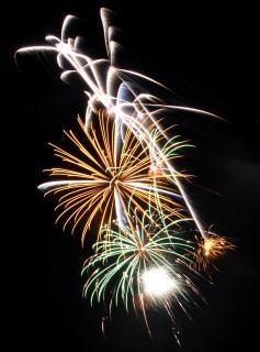 Vuurwerk, feest, vuurwerk