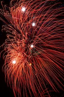 Vuurwerk in de nacht