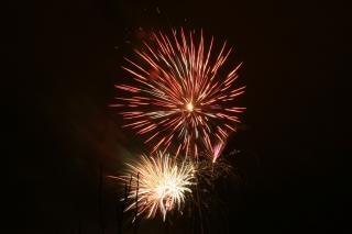 Vuurwerk, nieuwjaar, kleuren