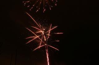 Vuurwerk, ontploffing, te vieren