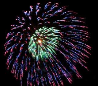 Vuurwerk, vakantie, independenceday