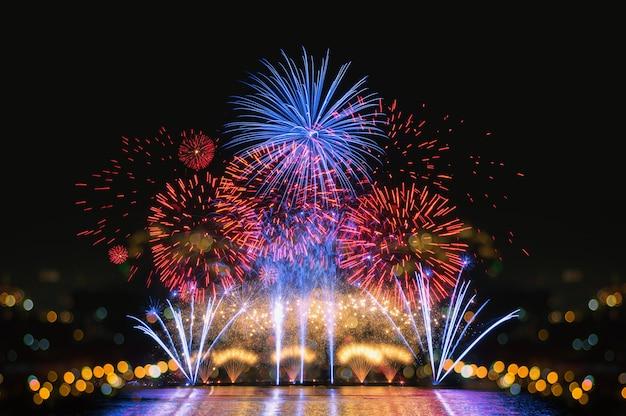 Vuurwerk voor de viering