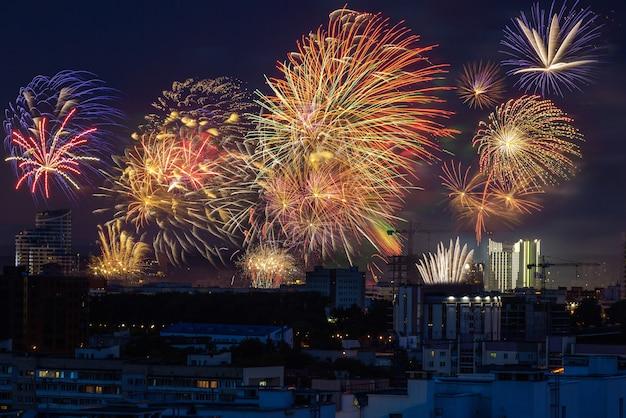 Vuurwerkshow op 4 juli
