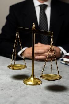 Waarheidsconcept arrangement met balans