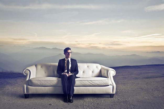 Wachten op een sollicitatiegesprek