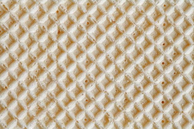 Wafer, vierkant oppervlak, achtergrondstructuur, close-up macroweergave
