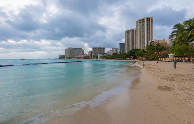Waikiki strand