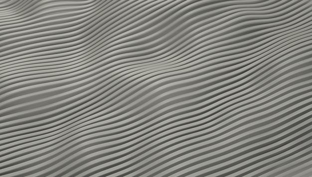 Wallpaper wuivende witte lijnen.