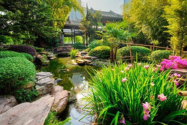 Wangjianglou-park. chengdu, sichuan, china
