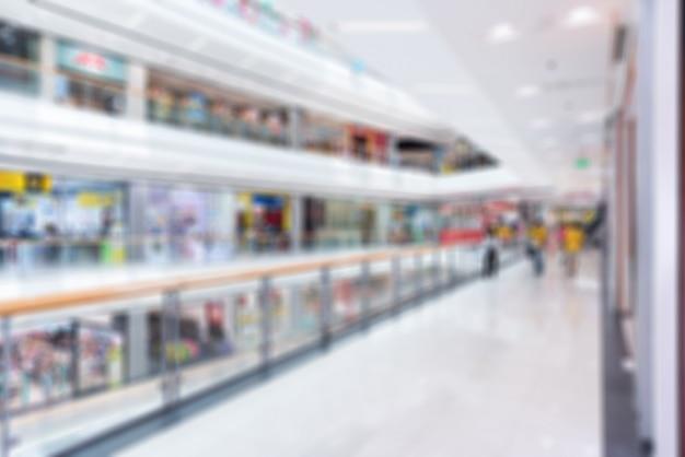 Warenhuis of winkelcentrum