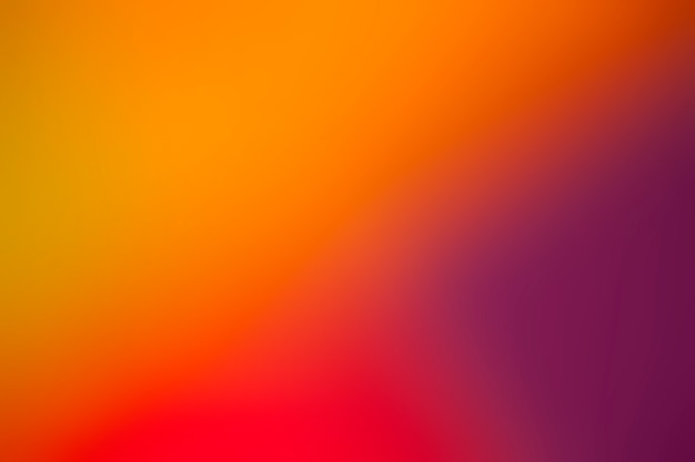 Warme kleuren in een felverloop