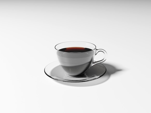 Warme koffie americano