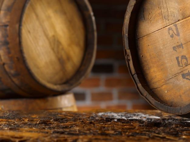 Warme omgeving voor bier en wijn