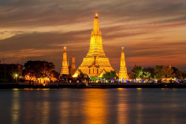 Wat arun-tempel, thailand