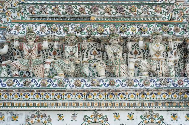 Wat arun (tempel van de dageraad) in bangkok