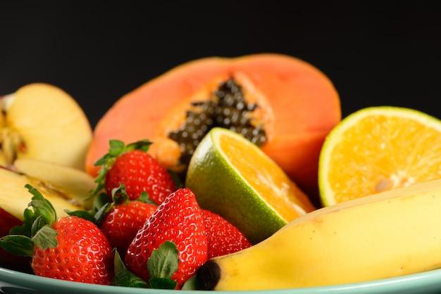 Wat fruit op plaat