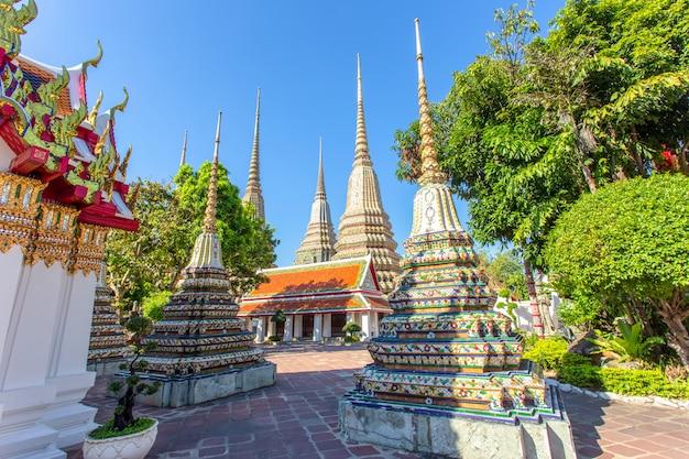 Wat pho is een boeddhistische tempel in bangkok