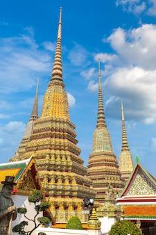 Wat pho-tempel in bangkok, thailand