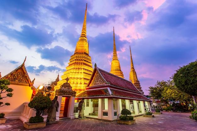 Wat pho-tempel of wat phra chetuphon