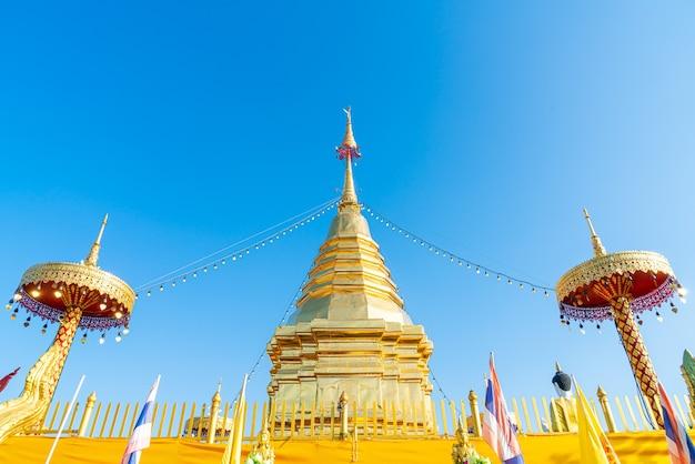 Wat phra that doi kham (tempel van de gouden berg)