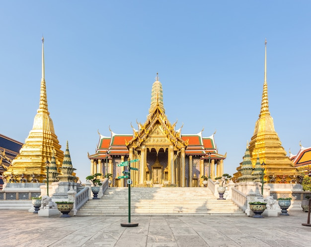 Wat pra kaew, grand palace