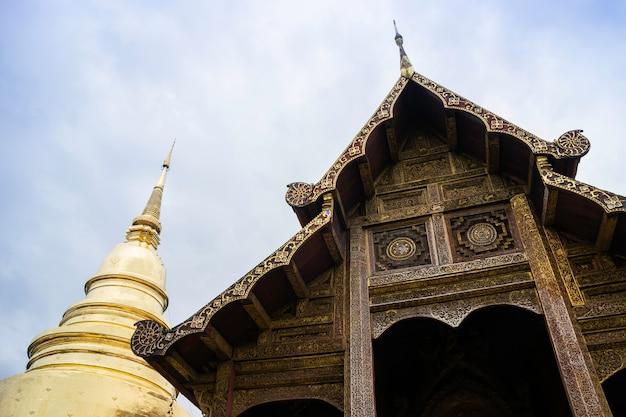 Wat pra singh-tempel in thailand