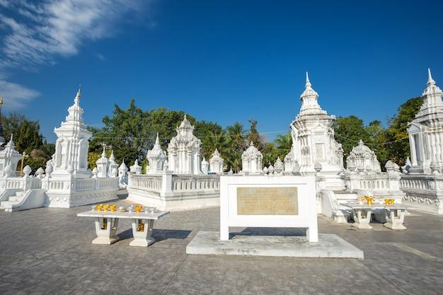 Wat suan dok is een boeddhistische tempel (wat) in chiang mai