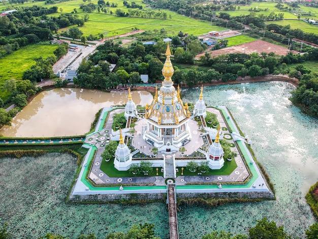 Wat thung setthi-tempel bij khonkaen-provincie thailand.