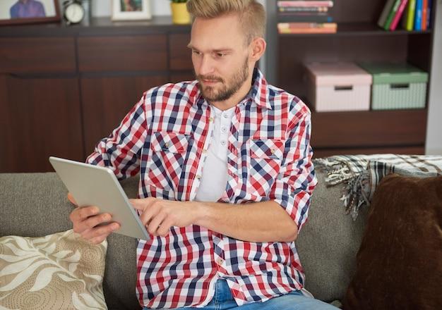 Wat vrije tijd om op internet te surfen