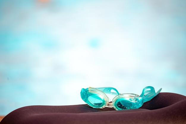 Waterdichte kinderzwembril