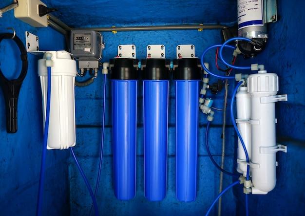 Waterfiltersysteem of osmose waterzuivering commercieel gebruik