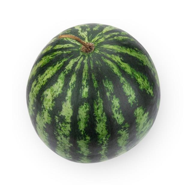 Watermeloen geïsoleerd op witte ruimte.
