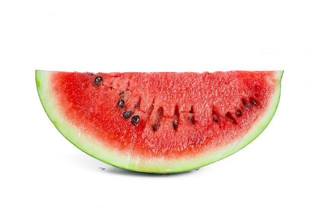 Watermeloen geïsoleerd