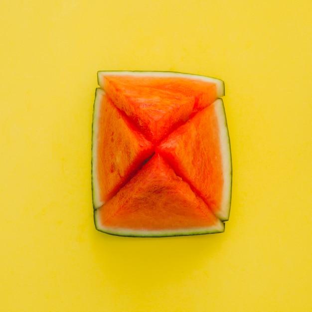 Watermeloen piramide