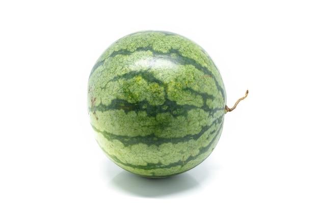 Watermeloen witte achtergrond