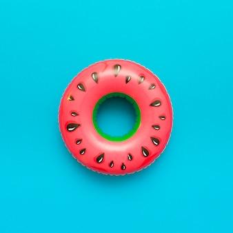 Watermeloen zwembad drijven